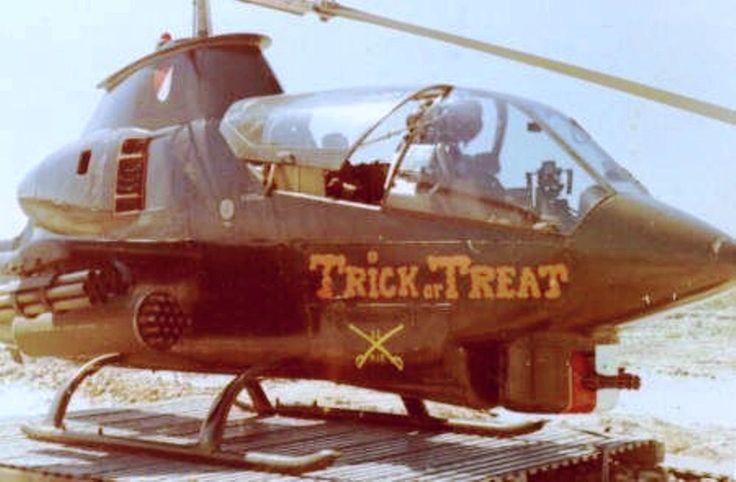Bell AH-1 Cobra at Ty Nihn, 1969.