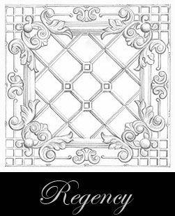 prensado diseño del techo de metal - Regency