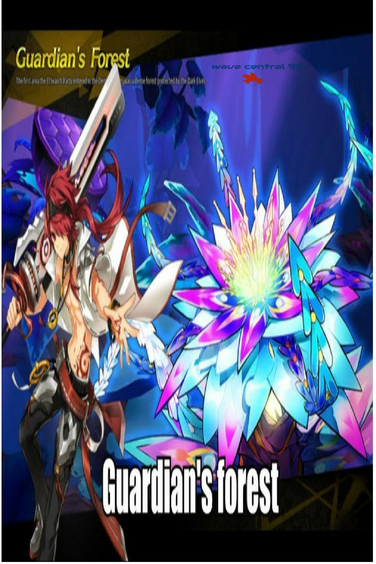 Elsword Video Rune Master Guardian's Forest Playthrough (12
