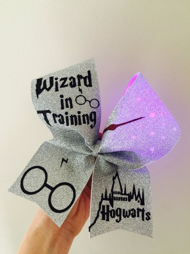 Light Up Color Changing Hogwarts Wizard In Training Harry Potter Cheer Bow