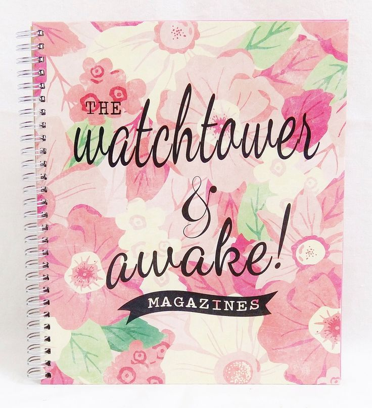 BeD of FLoWERs ~ JW Watchtower & Awake Magazine Folder by TheLampstand on Etsy https://www.etsy.com/listing/260333521/bed-of-flowers-jw-watchtower-awake