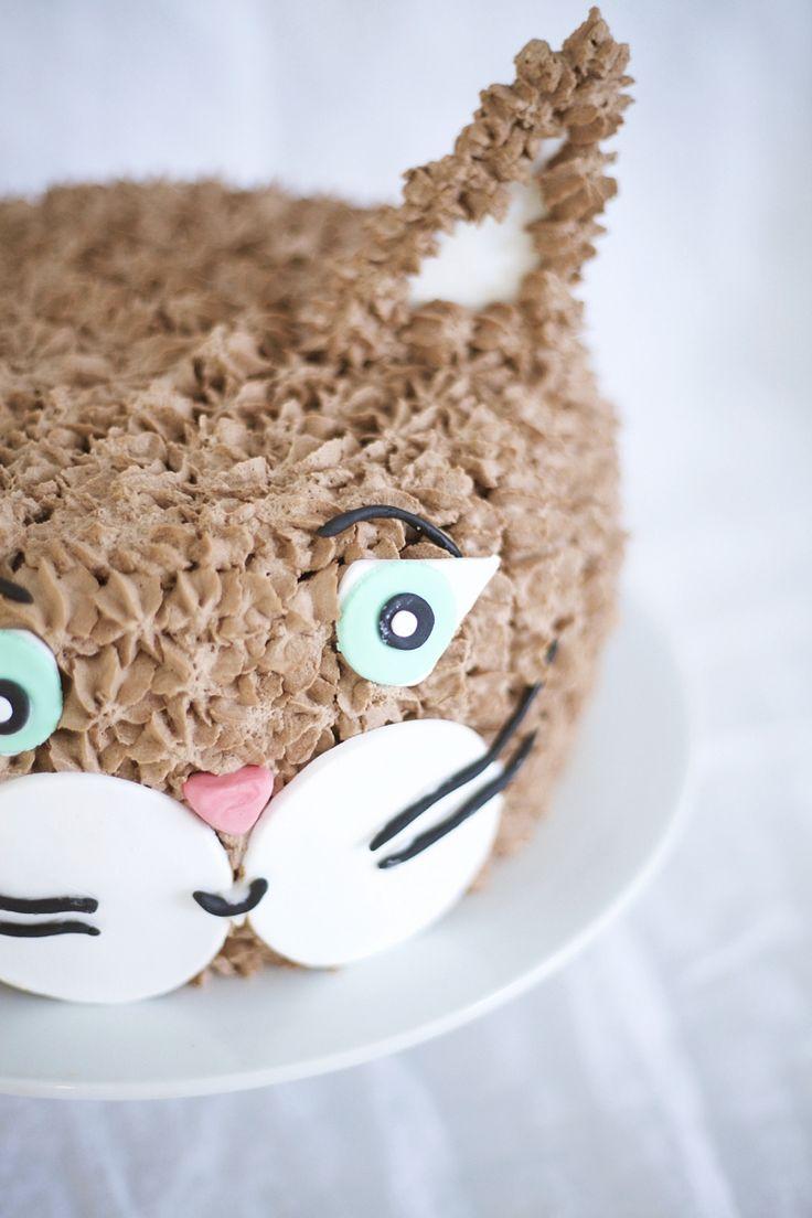 Kissa kakku / kitten cake