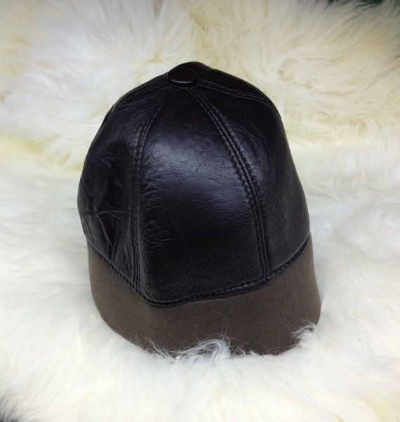 Real shearling hat with stretch textile. by BeFur on Etsy, €19.50