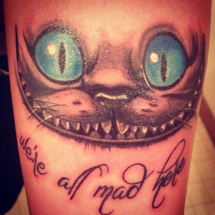 Alice in wonderland tattoo Cheshire cat   Wonderland ...