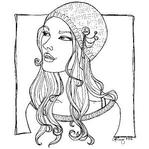 24 best Free Fashion coloring book images on Pinterest   Coloring ...