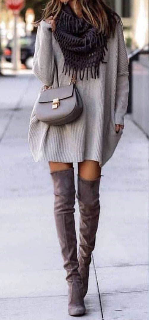 10+ Ways to Wear Over-the-Knee Boots 3