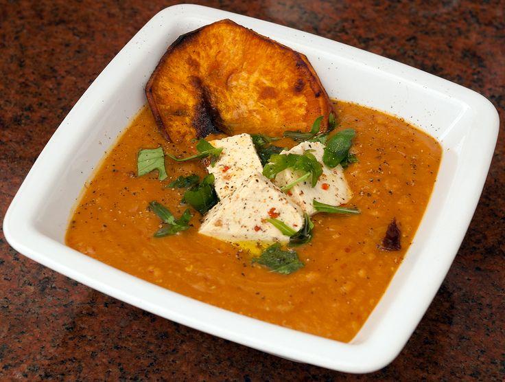 Sweet potatoe, red lentils, ginger,