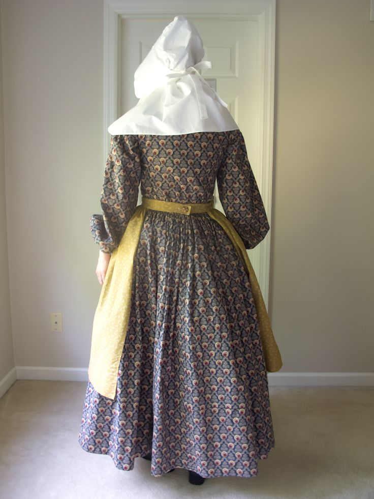 1840ish dress - pioneer trek