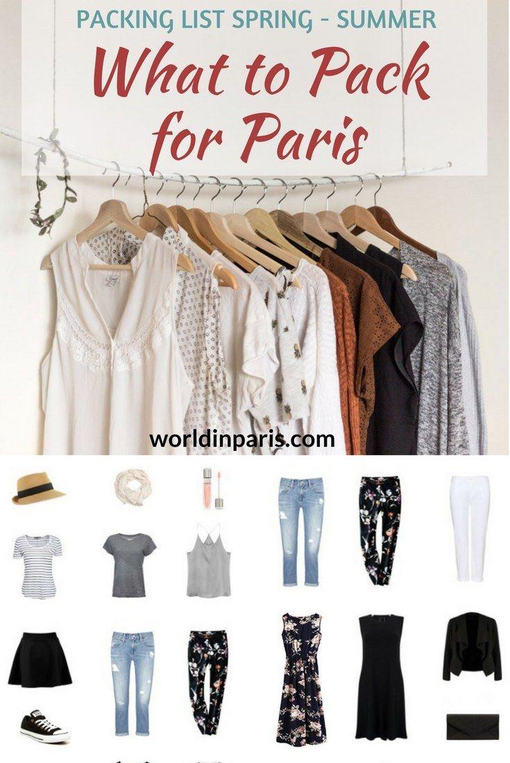 Paris Packing List, What to Take for Paris, What to Wear in Paris in the Summer, What to Wear in Paris in the Spring, Shoes to Wear in Paris, Packing for Paris, Paris Travel Essentials #parispackinglist #parisoutfits #parislikealocal #paris