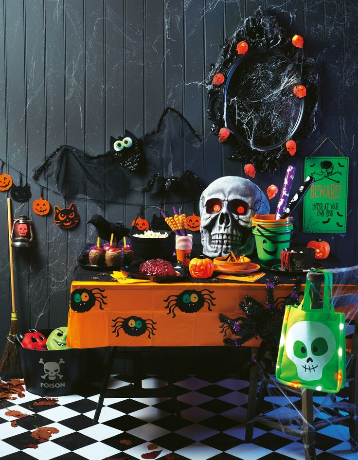 transform your house this halloween with our great range of decorations and party accessories