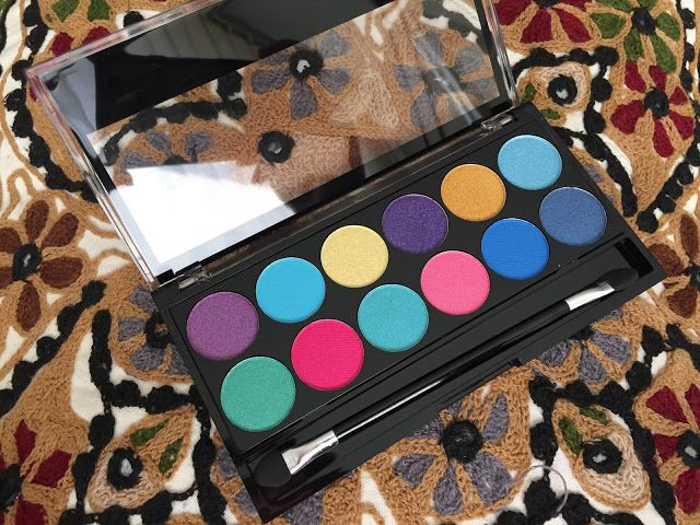 MUA MAKEUP ACADEMY | POPTASTIC EYESHADOW PALETTE REVIEW