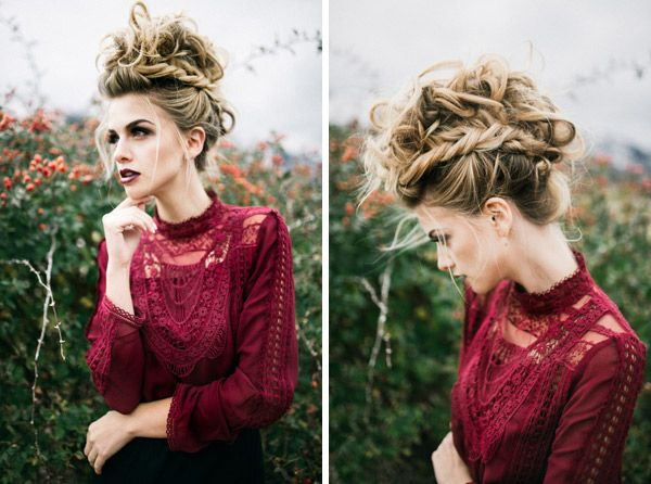Hair and Make-up by Steph: Maroon Mohawk