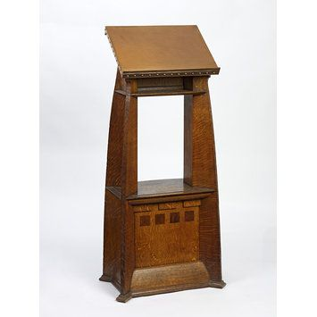 Lectern Date: 1903-1904 (made) Place: Great Britain Artist/maker: Townsend, Charles Harrison