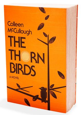 The Thorn Birds by Colleen McCullough - this is the book that hooked me into reading when I was a teen!