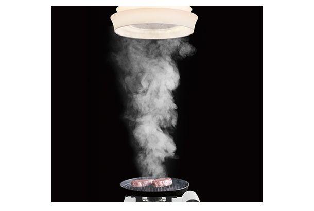遂にきた おうち焼肉の煙から解放される日 煙を吸う照明フード