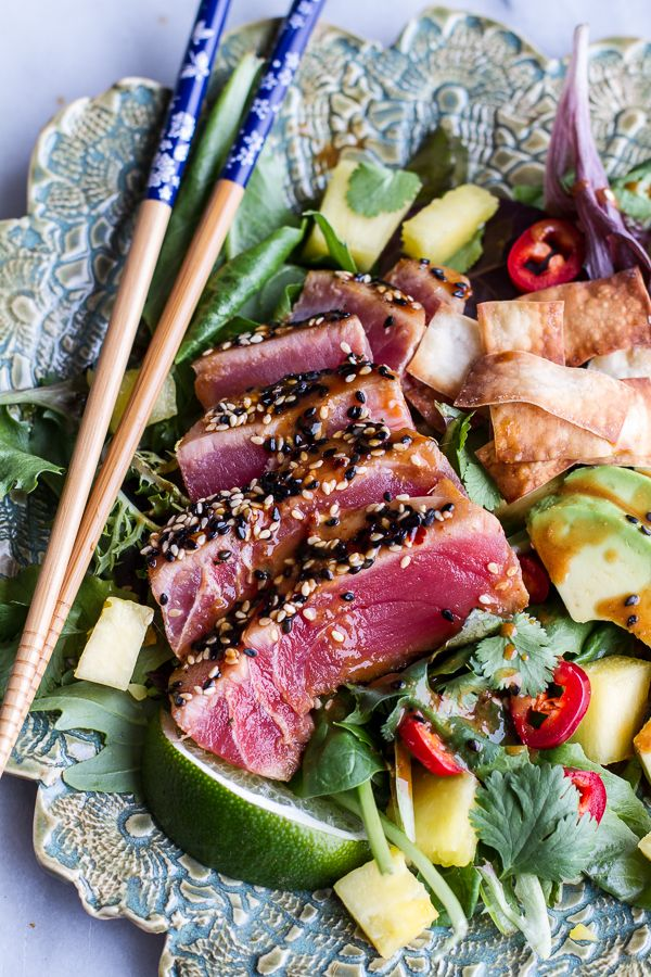 ... seared tuna salad seared ahi tuna salad rolls with mizkan ponzu