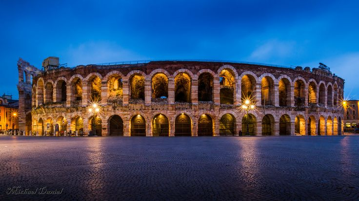 arena in verona by Michael Daniel on 500px