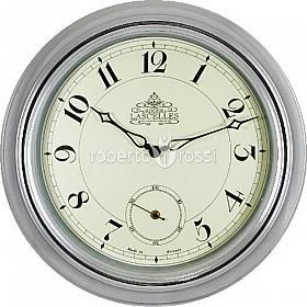 Wall clock Roger Lascelles Chrome Station http://www.robertorossi.ro/roger-lascelles-chrome-station-45-5-cm-44994-2660