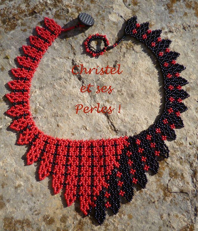 Béatrix rouge noir