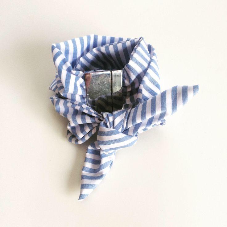A personal favorite from my Etsy shop https://www.etsy.com/listing/528802631/scarf-bracelet-vichy-bracelet-pattern