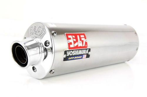 Yoshimura Rs-3 Signature Slip-on - Stainless W/aluminum End Cap 2387600-sa #atv #parts #exhaust #2387600sa