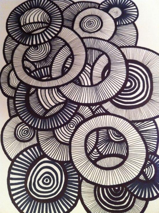 Element of Art: Line Principle of Art: Pattern Explain Overlapping