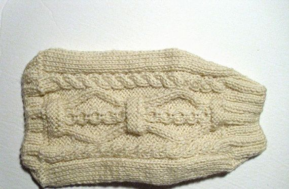 Dog sweater XS size hand knit. Dogs less than 5 lbs.