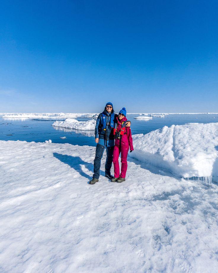 Casually posing on drift ice in the northern most point of Svalbard - Rossøya! 💪🏼😎 #sonya7RII #Arctic #NorthPole [ Location: Svalbard, Norway ] #BurnTheBucketlist 🔥 Follow us on Facebook or Instagram @burn_the_bucketlist 😉