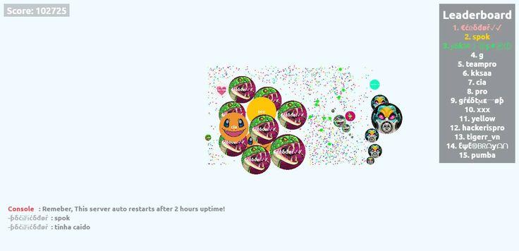 €ćữδđøř✓✔ nick name agario game score play agarioplay.com together! - Player: €ćữδđøř✓✔ / Score: 102725