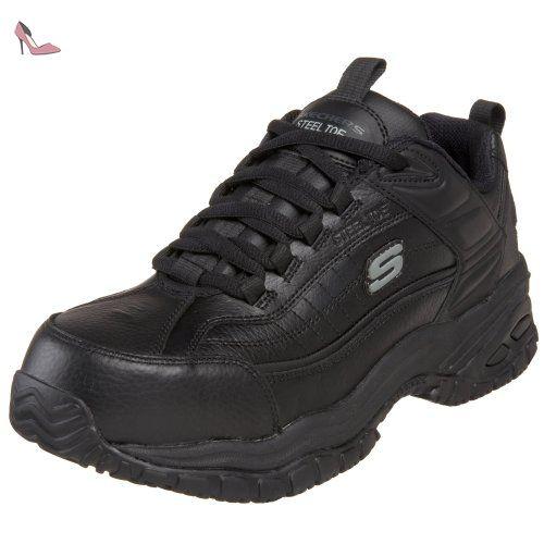 Skechers For Work 76760 souple Stride Steel-toe travail Shoe - Chaussures skechers (*Partner-Link)