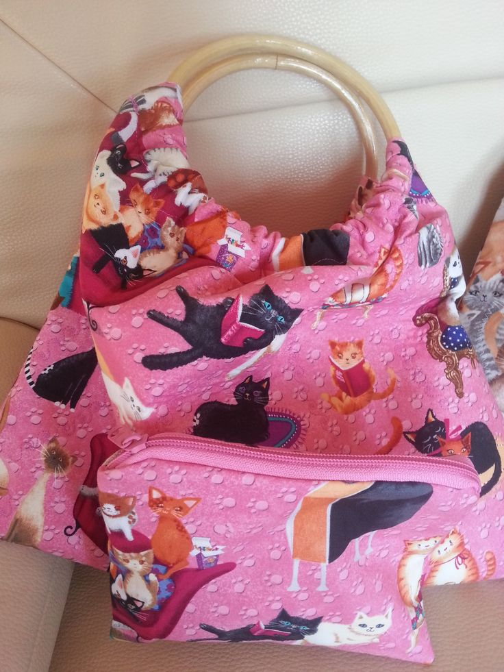 Catlike Handbag Sewing
