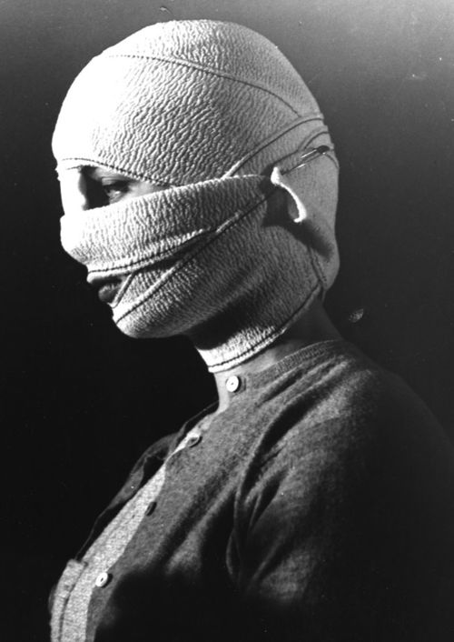 "Screenshot from Georges Franju's ""Les yeux sans visage"" (Eyes Without a Face)     1960"