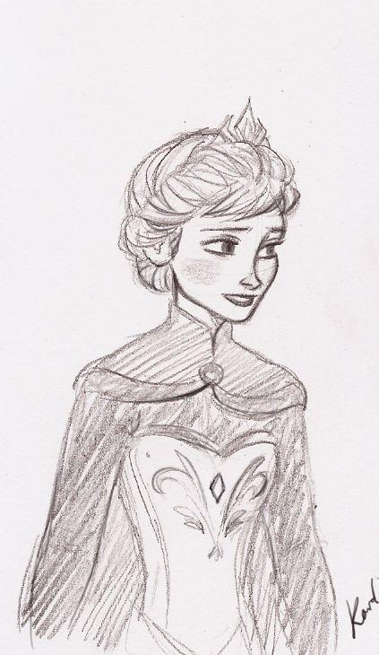 Elsa linda como sempre, é uma jóia, e a princesa mais velha da disney, mas tecnicamente ela já é rainha.