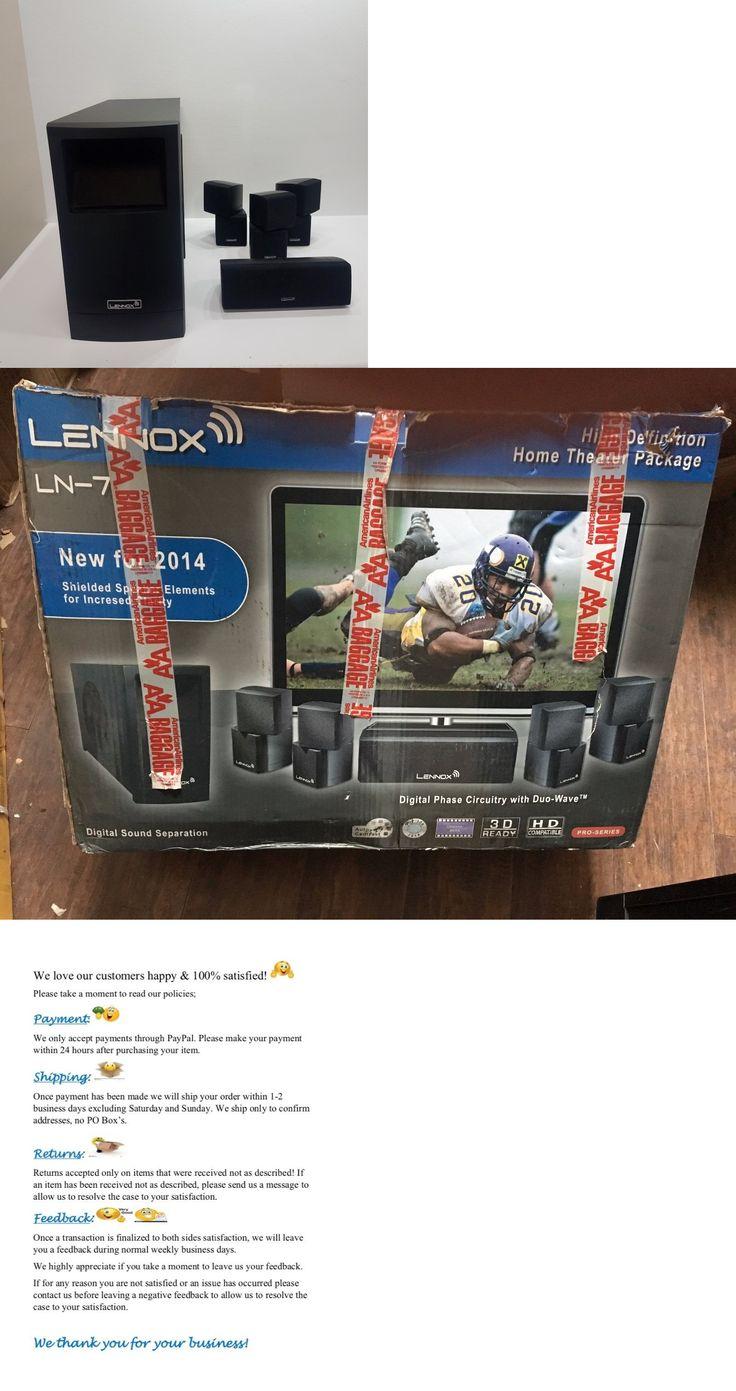 lennox ln 2000. home theater systems: lennox ln-7 high definition pro series ln 2000 /