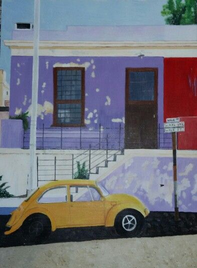 My painting - Bo Kaap