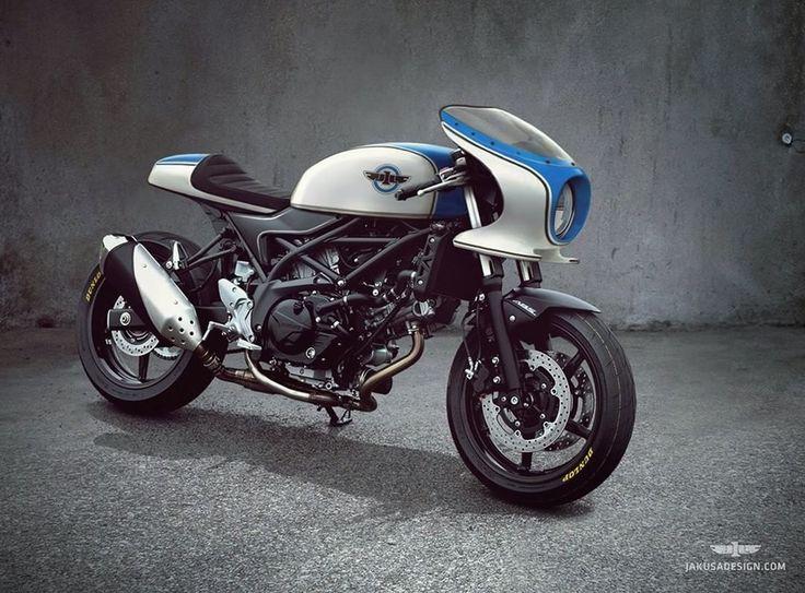 Suzuki SV650 Cafe Racer design by Jakusa Design #motorcycles #caferacer #motos   caferacerpasion.com