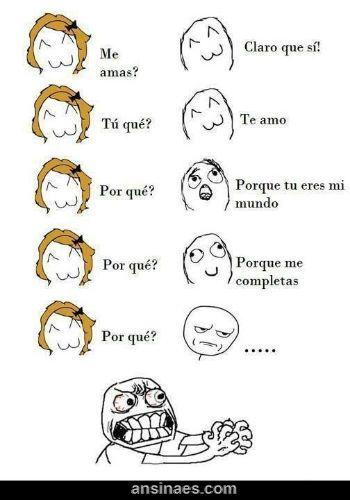 Memes Chistosos - ¿Me amas? #amor