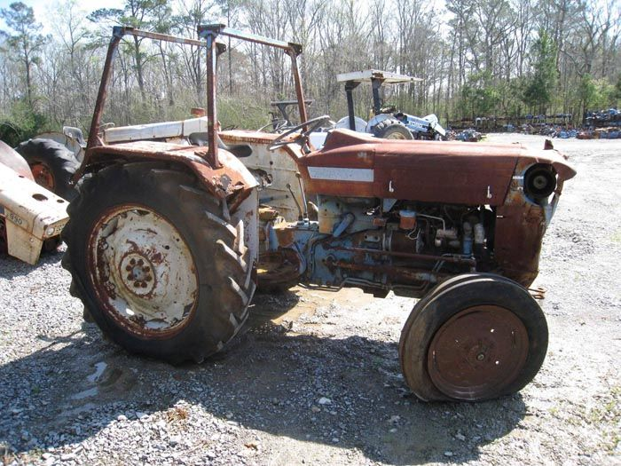Tractor Parts Finder : This tractor has been dismantled for ford