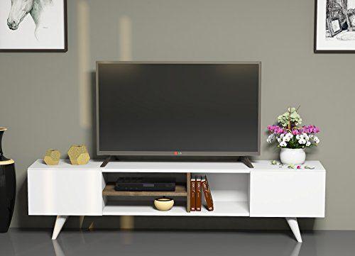 17 mejores ideas sobre muebles para televisores en for Muebles bajos para salon