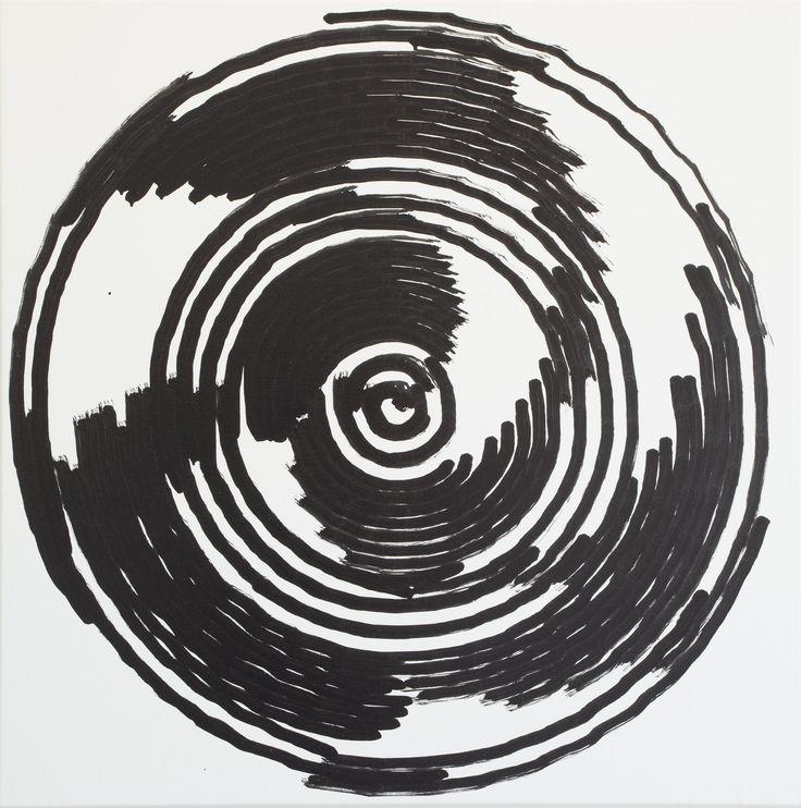 Simon Ingram, No 6, 31 July, 2014, sum 1152.555, Oil on Linen, 850 x 850mm