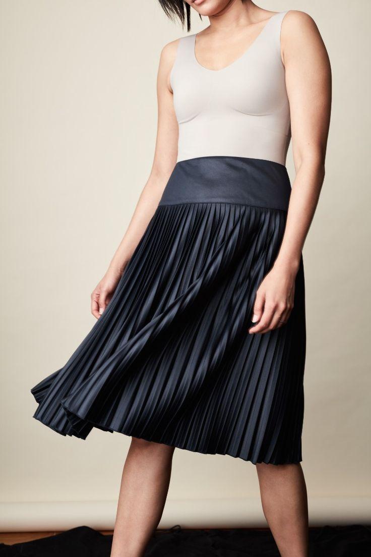 LuxeLift Evolution Tank Navy maxi skirts, Plus size