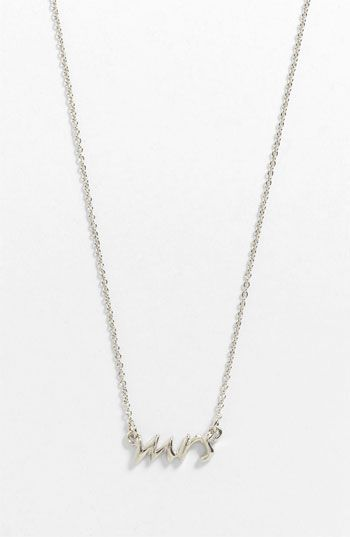 kate spade new york 'say yes - mrs' necklace | Nordstrom