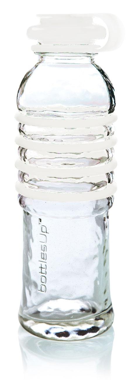 Reusable glass ... Reusable Glass Water Bottle
