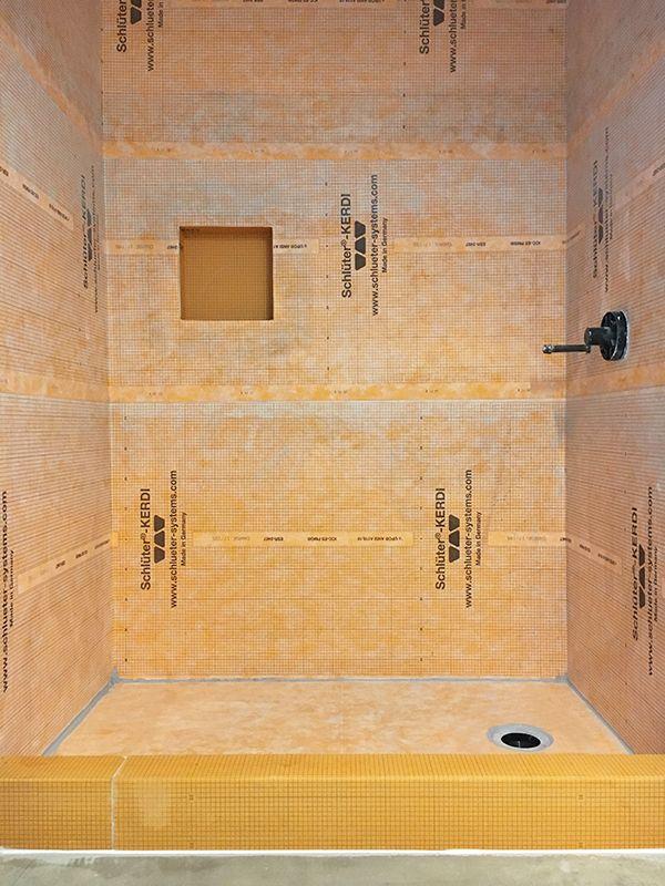24 24 porcelain tile schluter shower bathrooms pinterest rh pinterest com bathroom tile contractors bathroom tile installation contractors