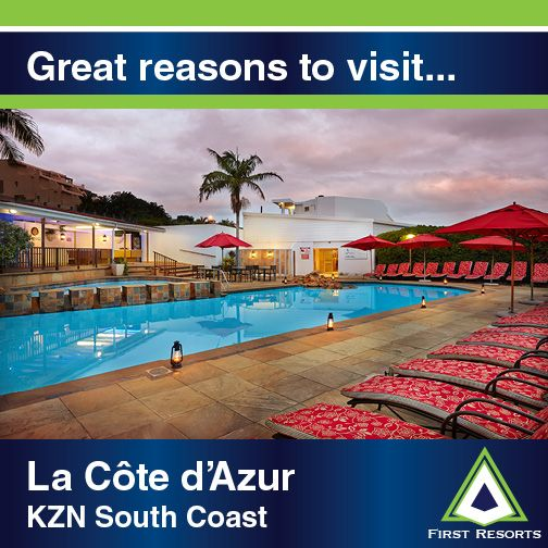 1. Enjoy scrumptious meals at the French Vanilla coffee shop 2. Kick back with gorgeous views from your apartment 3. Indulge at the poolside cocktail bar, ideal for sundowners #lacote #firstresorts #greatreasonstovisit #resortoftheweek #margate #southcoast #travel #vacation #travelgram #poolside #instagood #lanterns #southafrica #weloveit #outdoors #instatravel #clouds #umbrellas