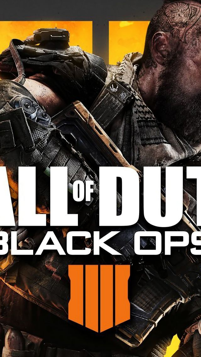 Call Of Duty Black Ops 4 Poster 4k Vertical Call Of Duty