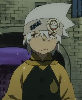 Soul Eater Evans (ソウル・イーター, Sōru Ītā) or just 'Soul' to his friends, is Maka Albarn's Scythe (魔鎌 Magama in Japanese) partner. He is the main male protagonist and Weapon of the series. He is also part of the group Spartoi. His real name is actually Soul Evans (ソウル・エヴァンス Sōru Evansu in Japanese) but upon entering Shibusen, he changed it to Soul Eater through Shibusen's liberal naming principles.