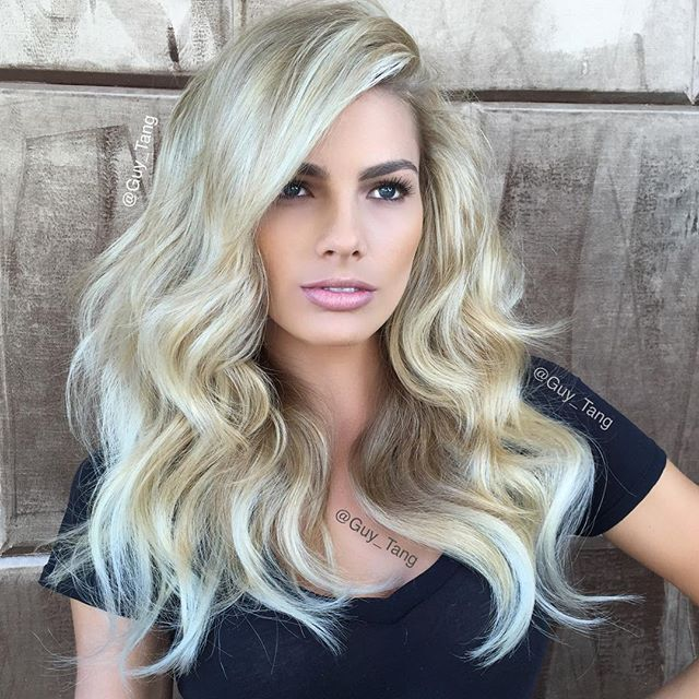 @paigecollings gets some icy highlights using Diamonds in ...