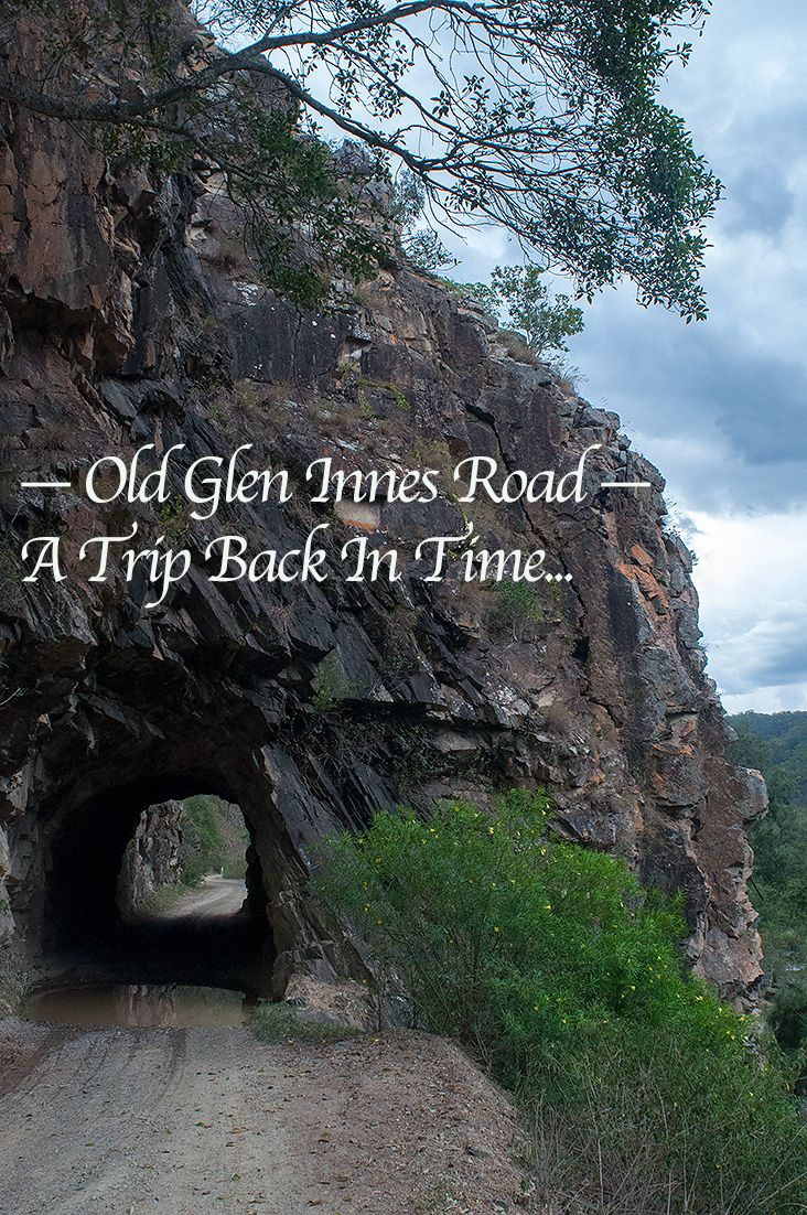 Old Glen Innes Road is a 170 kilometre road that takes adventures through a ghost town an old settler's tunnel and the wild country of Grafton, NSW.