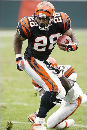Corey Dillion # 28 Cincinnati Bengals RB College:Washington